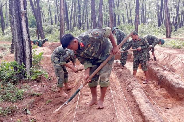 Công tác chuẩn bị diễn tập khu vực phòng thủ tỉnh Quảng Bình năm 2019